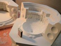 Изготовление гипсовых форм на ЧПУ станке по 3D моделям