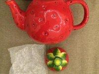 Чайник заварочный 'Клубника'