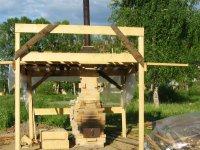 Учебный курс 'строительство дровяной печи обратного пламени'