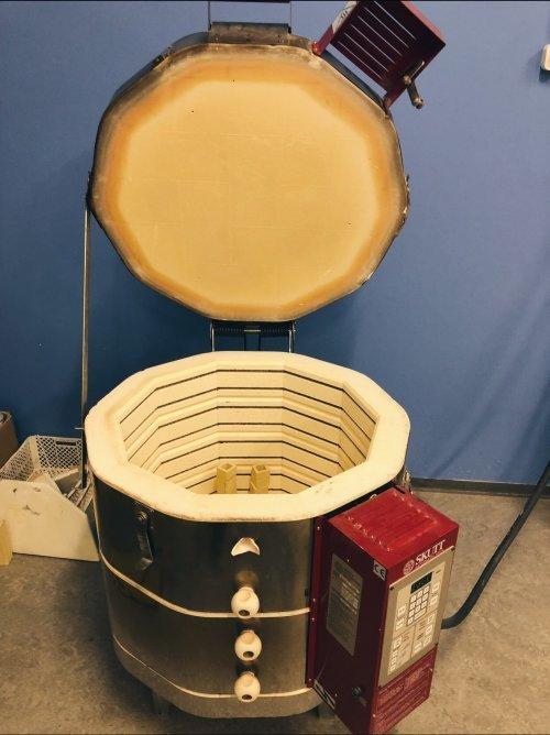 Продам печь skutt km1018-3 118 литров