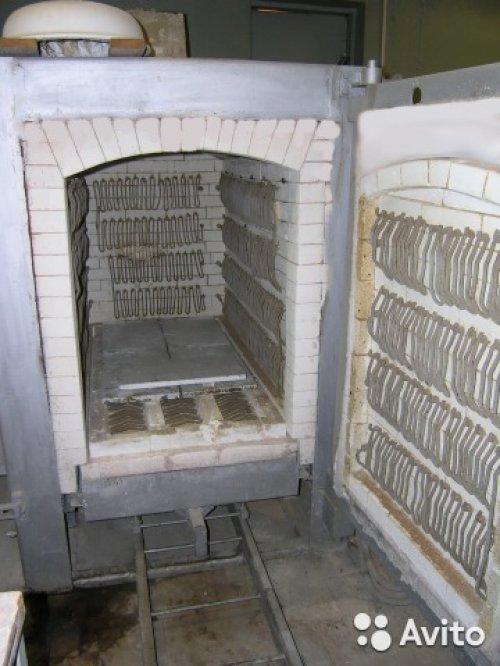 Продается печь 1000 л., до 1350 градусов, Московская область