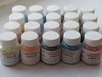 Продам набор ( 20 цветов) подглазурной майоликовой краски