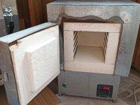 Муфельная печь 10 л, фронтальная загрузка