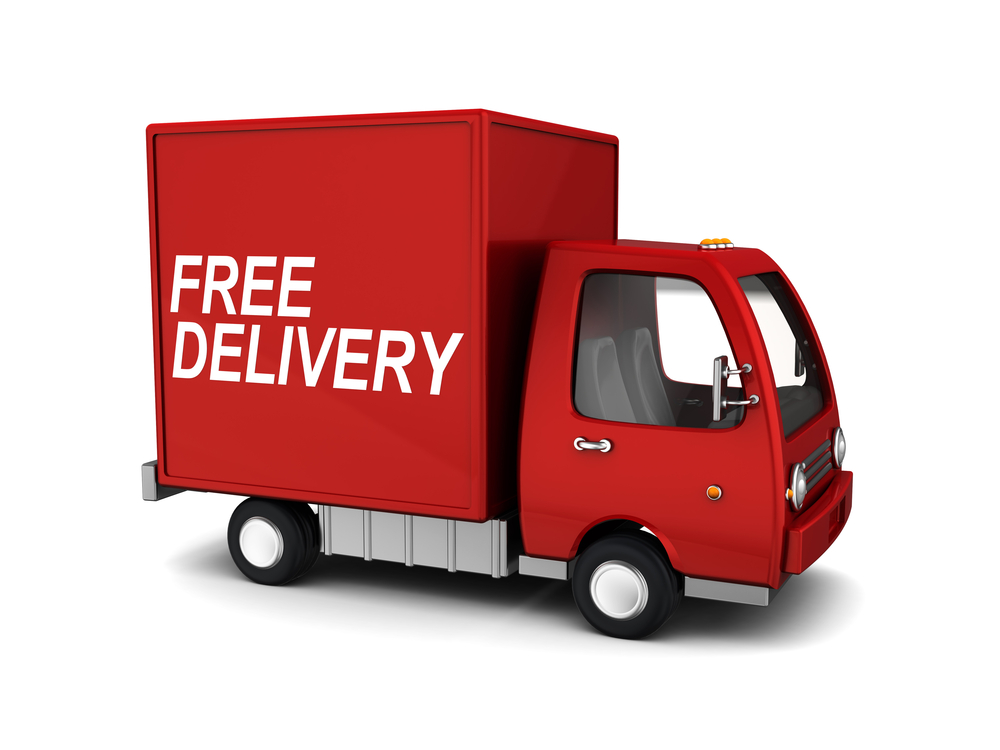 free delivery 2021